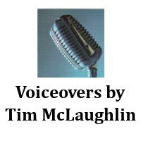 Voiceovers by Tim McLaughlin Logo