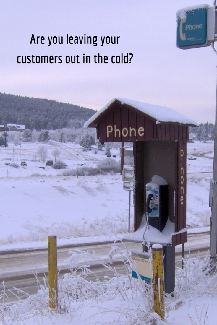 Customer on-hold are left in the cold