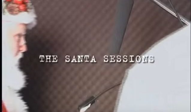 Voice-over recording can be tough even for Santa Claus
