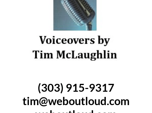 voice-over talent narrator voiceovers by tim mclaughlin